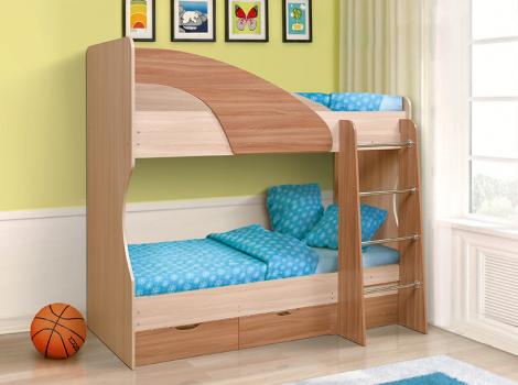 Кровать 2-х ярусная В-1