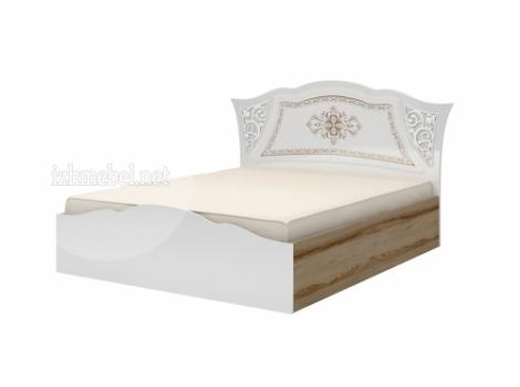 Династия мод. 5 Кровать двойная 1600 (латы)