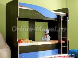 Детская двухъярусная кровать Фанки Соло 4