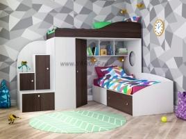 Кровать-чердак Кадет-2