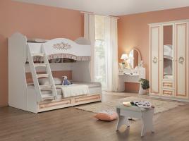 Кровать 2-х ярусная Алиса