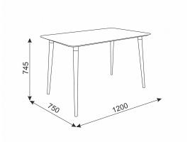 Стол обеденный Сканди-1